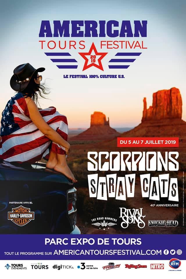 Affiche American Tour Festival